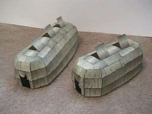 Paper Longhouses